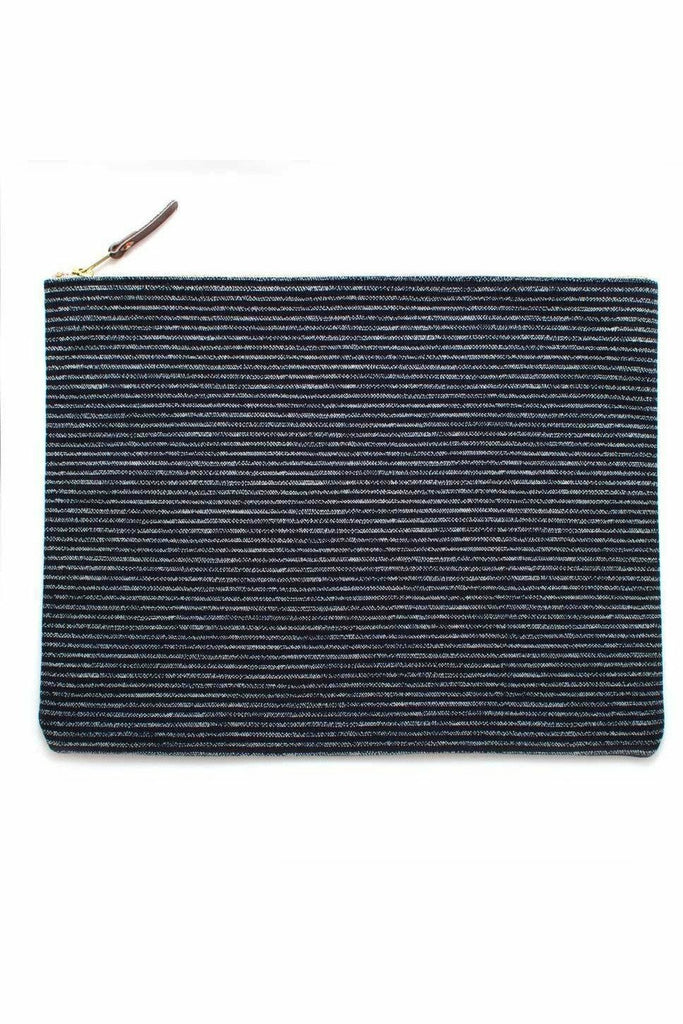 General Knot General Knot - Carry All Pouch - Indigo Chalk Stripe Dark Slate Gray