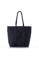 Sea Bags Sea Bags - Black-On-Black Anchor Tote - Black Black