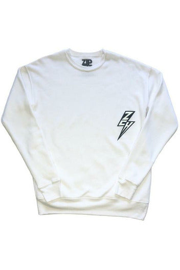 ZCH ZCH - Essentials Crewneck Sweatshirt - White Lavender