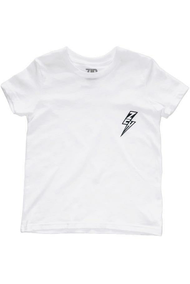 ZCH - Youth - Essentials S/S Tee - White