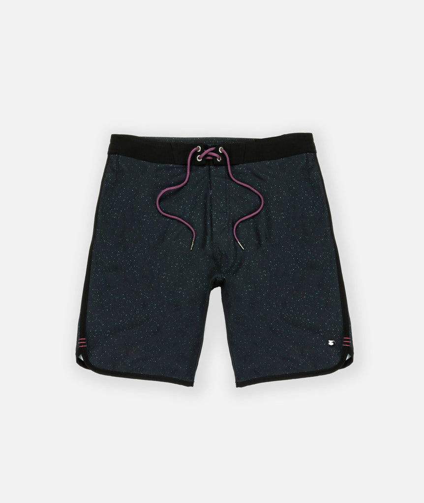 Jetty Jetty - LOGGERHEADS POOLSHORT - CHARCOAL Dark Slate Gray