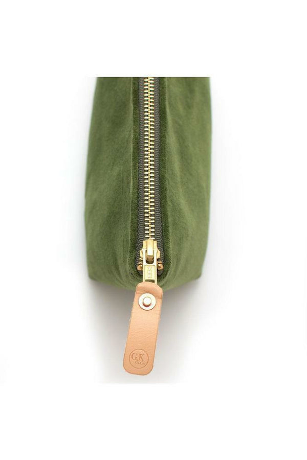 General Knot General Knot - Travel Clutch - Olive Dim Gray
