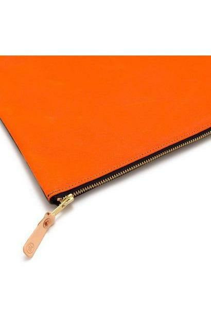 General Knot General Knot - Laptop Sleeve - Japanese Ivory Tidal Orange Red