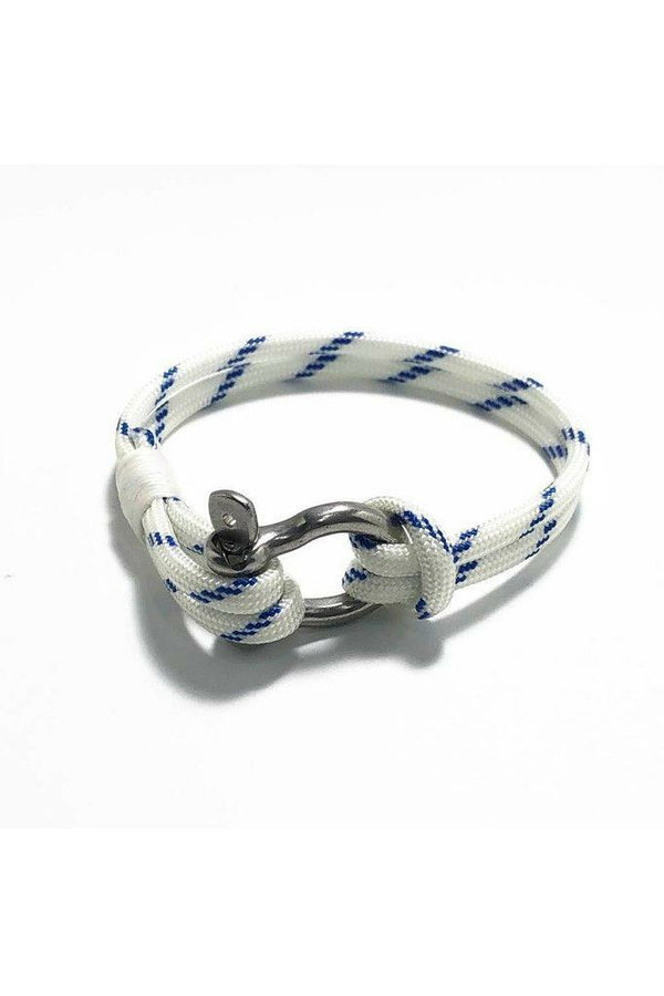 Mystic Knotwork Mystic Knotwork - Nautical Shackle Bracelet Dark Gray