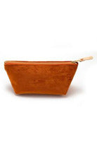 General Knot General Knot - Travel Clutch - Carrot Saddle Brown