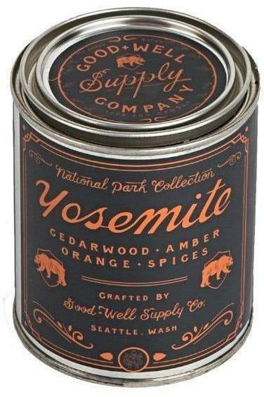 YOSEMITE - cedarwood, amber, orange + spice - 8.0 oz