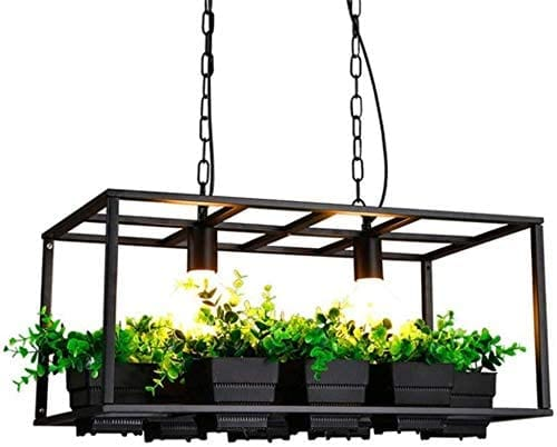 Modern & Simple Chandelier lighting plant pot - [Homistic]
