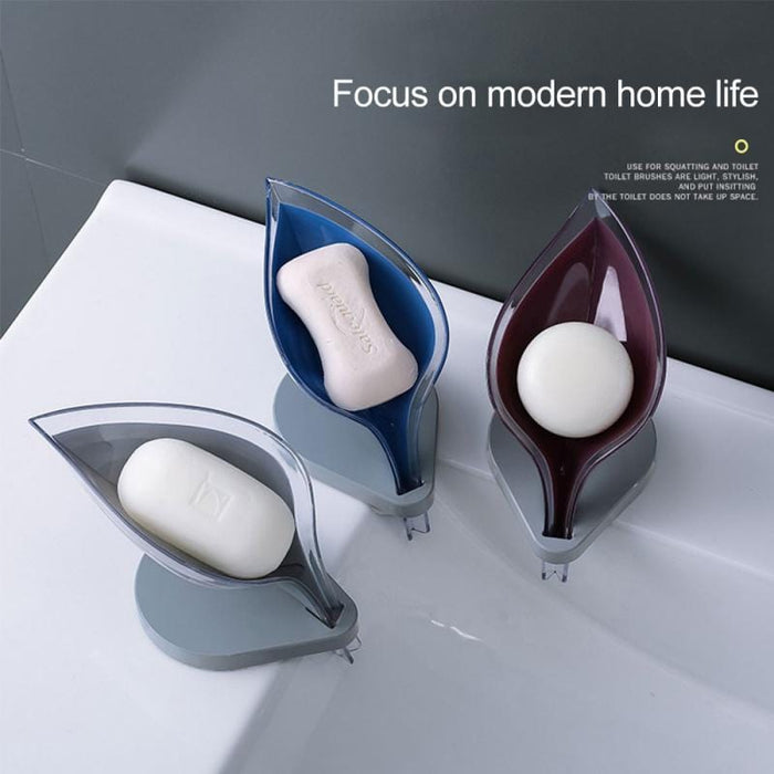Soap Holder Sink Sponge Drain Box - [Homistic]