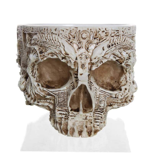 Skull Flower Pot - [Homistic]