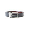BLACK & DARK BROWN REVERSABLE BELT