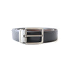 BLACK & DARK BROWN TEXTURE REVERSABLE BELT