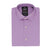 PURPLE SELF TEXTURE SHIRT