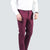 MAROON SLIM FIT COTTON CHINO