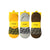 PACK OF 3 - LOAFER LINERS - 3 COLORS