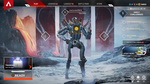 Bottom-tier Apex Legends Coin Account - Squad Boosting