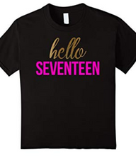 Load image into Gallery viewer, Hello Seventeen T shirt