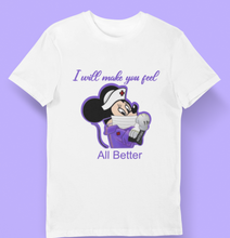 Load image into Gallery viewer, Nurse  Minnie T-shirt