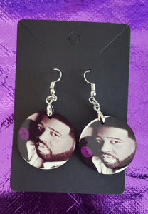 Gerald Levert Earrings