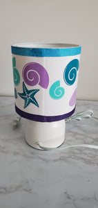 Girls Personalized Baby Lamp