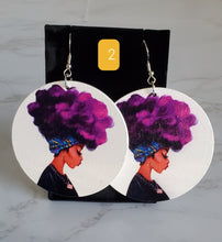 Load image into Gallery viewer, Wooden Earrings