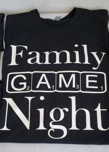 Family Game Night T- shirt