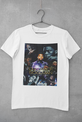 Chadwick Boseman many faces  T-shirt