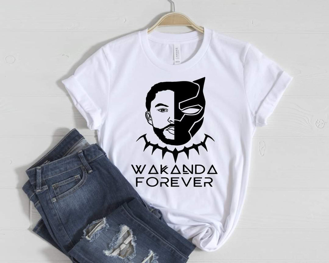 Black Panther/ Chadwick T-shirt