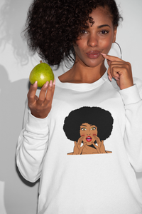 Afro Girl Graphic Tee