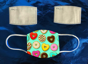 Donut Hearts Mask (kids)