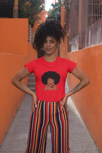 Load image into Gallery viewer, Afro Girl Graphic Tee