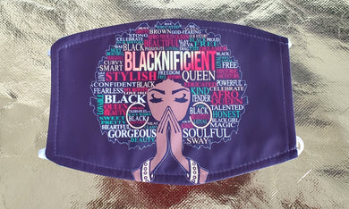 Blacknificient Mask