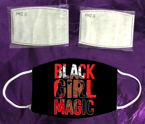 Black Girl Magic 2 Mask
