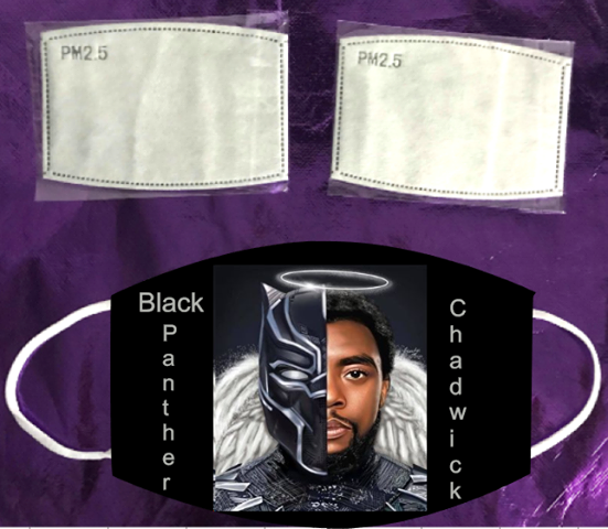 Black Panther-Chadwick  Mask