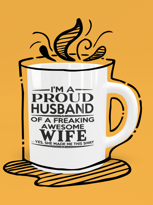 Proud Husband Mug