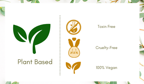plant based beauty care products