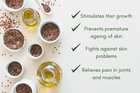 benefits of cold pressed flaxseed oil