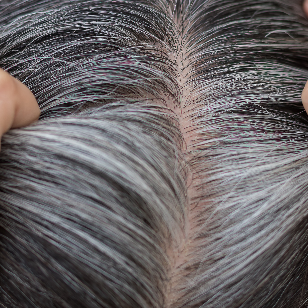 Reduces hair greying