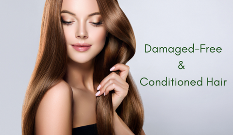 solution for damaged hair, get conditioned hair
