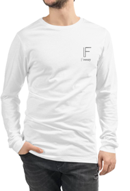 Frenzy white long sleeve