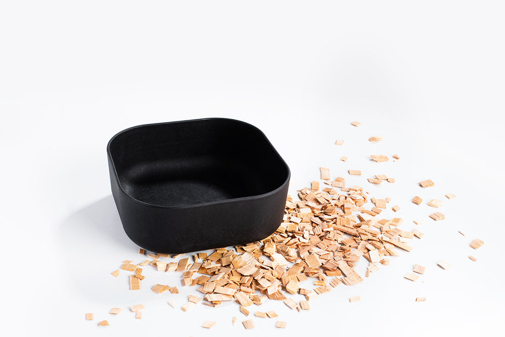 Venandi Desing Pet Bowl - Charcoal Black