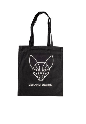 Venandi Design Cotton Bag Black