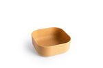 Venandi Design Pet Bowl Wood Chips Dog Cat Food Bowl
