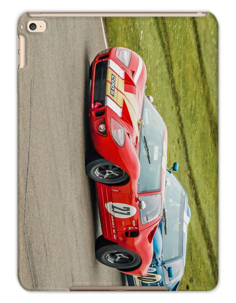 Ford GT40s Racing iPad Tablet Cases