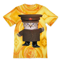 Communist Kitten Sublimation T-Shirt