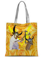 Viking Kittens Sublimation Tote Bag