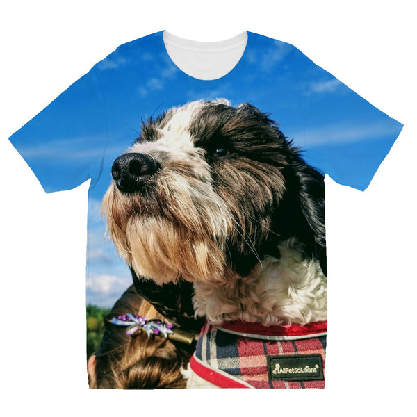 Barney the Cockapoo Kids' Sublimation T-Shirt