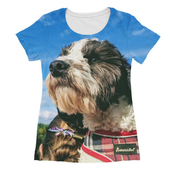 Barney the Cockapoo Women's Sublimation T-Shirt