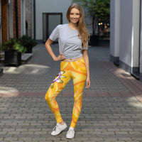 Passion Flower Leggings