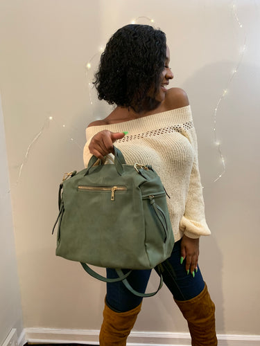 Army Green Casual Bag
