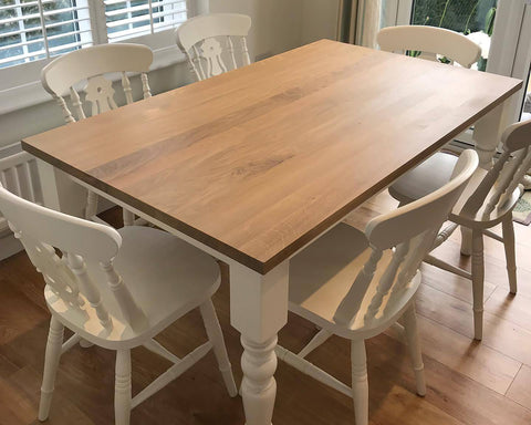 Fiddle Back Dining Set